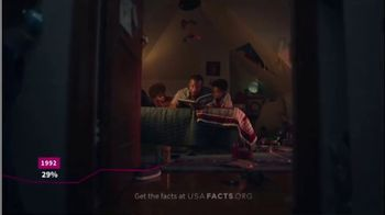 USAFacts TV Spot, 'Change the Story: Part Two' - Thumbnail 8