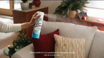 Lysol Disinfectant Spray TV Spot, 'Protección donde descansen' [Spanish] - Thumbnail 5