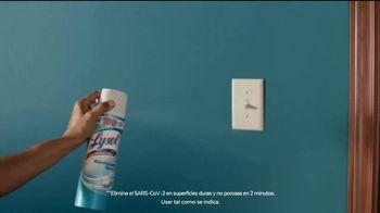 Lysol Disinfectant Spray TV Spot, 'Protección donde descansen' [Spanish] - Thumbnail 6