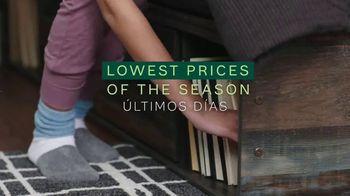 Ashley HomeStore Lowest Prices of the Season TV Spot, 'Últimos días' [Spanish] - Thumbnail 2