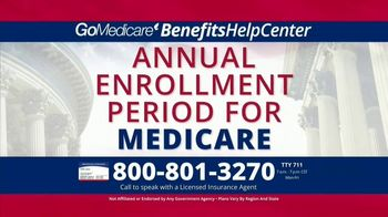 GoMedicare BenefitsHelpCenter TV Spot, 'Eligible: Find Out Today' - Thumbnail 2