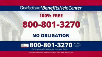 GoMedicare BenefitsHelpCenter TV Spot, 'Eligible: Find Out Today' - Thumbnail 3
