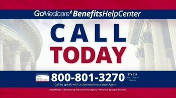 GoMedicare BenefitsHelpCenter TV Spot, 'Eligible: Find Out Today' - Thumbnail 5