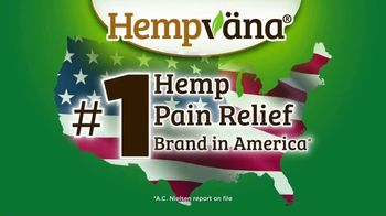 Hempvana Pain Relief Cream TV Spot, 'Number One Hemp Pain Relief Cream' - Thumbnail 2