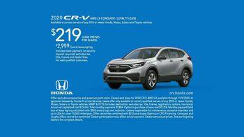 2020 Honda CR-V TV Spot, 'Unexpected Bumps' [T2] - Thumbnail 7