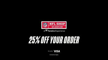 NFL Shop TV Spot, 'Make the Colors Hit: 25% Off' Song by KYLE, K CAMP, Rich the Kid - Thumbnail 10