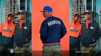 NFL Shop TV Spot, \'Make the Colors Hit: 25% Off\' Song by KYLE, K CAMP, Rich the Kid