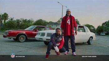 NFL Shop TV Spot, 'Make the Colors Hit: 25% Off' Song by KYLE, K CAMP, Rich the Kid - Thumbnail 5
