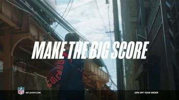 NFL Shop TV Spot, 'Make the Colors Hit: 25% Off' Song by KYLE, K CAMP, Rich the Kid - Thumbnail 8