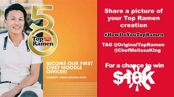 Nissin Top Ramen TV Spot, 'Chief Noodle Officer' Featuring Melissa King - Thumbnail 5