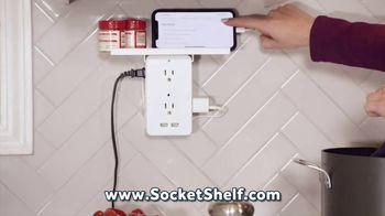 Socket Shelf TV Spot, 'Add a Shelf to Any Outlet'