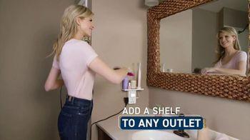 Socket Shelf TV Spot, 'Add a Shelf to Any Outlet' - Thumbnail 4