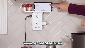 Socket Shelf TV Spot, 'Add a Shelf to Any Outlet'