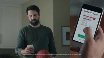 Rocket Mortgage TV Spot, 'No Ball in the House' Featuring Larry Fitzgerald Jr. - Thumbnail 3