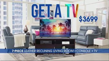 Rooms to Go TV Spot, 'Ultimate TV Package: Buy the Room and Get a TV: $3,699' - Thumbnail 2