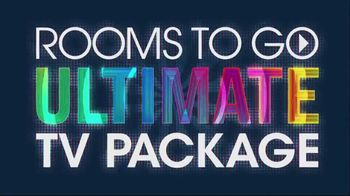 Rooms to Go TV Spot, 'Ultimate TV Package: Buy the Room and Get a TV: $3,699' - Thumbnail 5