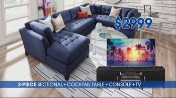 Rooms to Go TV Spot, 'Ultimate TV Package: Buy the Room and Get a TV: $3,699' - Thumbnail 6