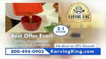 Karving King TV Spot, 'Dripless Design' - Thumbnail 9