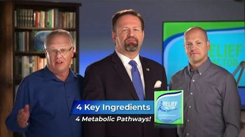Relief Factor 3-Week Quickstart TV Spot, \'Todd\'s Review\' Featuring Dr. Sebastian Gorka