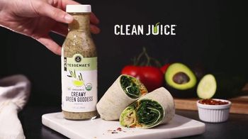 Tessemae's Creamy Green Goddess TV Spot, 'Clean Juice' - Thumbnail 9