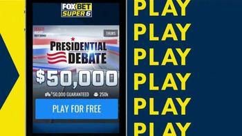 FOX Bet TV Spot, 'Presidential Debate'