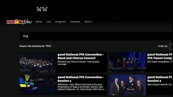 RFD TV NOW TV Spot, '2020 National FFA Convention & Expo' - Thumbnail 3