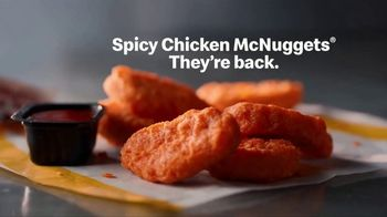 McDonald's Spicy Chicken McNuggets TV Spot, 'They're Back'