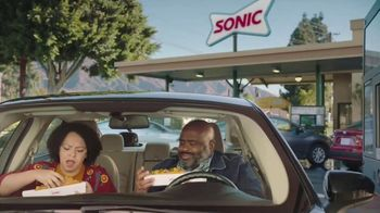 Sonic Drive-In Extra-Long Ultimate Cheesesteak TV Spot, 'Share' - Thumbnail 1