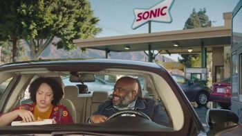 Sonic Drive-In Extra-Long Ultimate Cheesesteak TV Spot, 'Share'