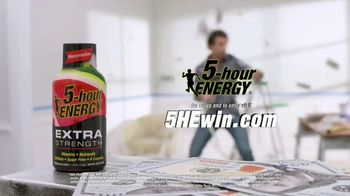 5-Hour Energy Extra Strength TV Spot, 'Getting Stuff Done' - Thumbnail 9