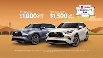 Toyota Presidents Day Sales Event TV Spot, 'Decreed: RAV4 and Highlander' [T2] - Thumbnail 7