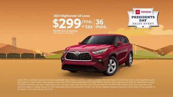Toyota Presidents Day Sales Event TV Spot, 'Decreed: RAV4 and Highlander' [T2] - Thumbnail 8