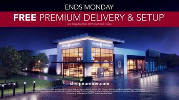 Sleep Number January Sale TV Spot, 'Weekend Special: $900 Delivery and Setup' - Thumbnail 9
