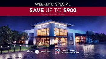 Sleep Number January Sale TV Spot, 'Weekend Special: $900 Delivery and Setup' - Thumbnail 8