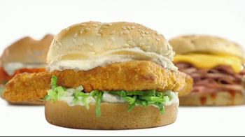 Arby's 2 for $6 Everyday Value TV Spot, 'Spicy Buffalo Crispy Chicken' Song by YOGI - Thumbnail 7