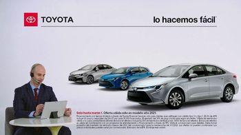 2021 Toyota Corolla TV Spot, 'Comentarista deportivo: familia Corolla' [Spanish] [T2] - Thumbnail 1