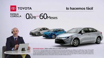 2021 Toyota Corolla TV Spot, 'Comentarista deportivo: familia Corolla' [Spanish] [T2] - Thumbnail 2