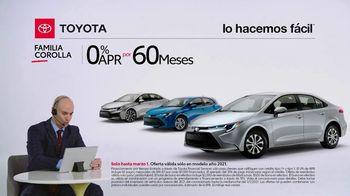 2021 Toyota Corolla TV Spot, 'Comentarista deportivo: familia Corolla' [Spanish] [T2] - Thumbnail 3