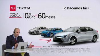 2021 Toyota Corolla TV Spot, 'Comentarista deportivo: familia Corolla' [Spanish] [T2] - Thumbnail 4