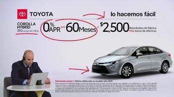 2021 Toyota Corolla TV Spot, 'Comentarista deportivo: familia Corolla' [Spanish] [T2] - Thumbnail 6