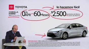2021 Toyota Corolla TV Spot, 'Comentarista deportivo: familia Corolla' [Spanish] [T2] - Thumbnail 7