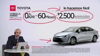 2021 Toyota Corolla TV Spot, 'Comentarista deportivo: familia Corolla' [Spanish] [T2] - Thumbnail 8