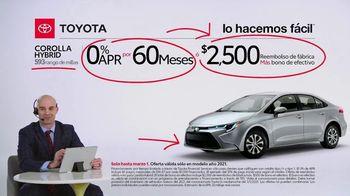 2021 Toyota Corolla TV Spot, 'Comentarista deportivo: familia Corolla' [Spanish] [T2] - Thumbnail 9