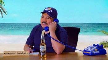 Corona Extra TV Spot, 'Corona Hotline: Romo Replacement' Featuring Guillermo Rodriguez - 1 commercial airings