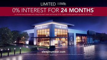 Ultimate Sleep Number Event TV Spot, 'Save 50%: 0% Interest' - Thumbnail 9