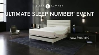 Ultimate Sleep Number Event TV Spot, 'Save 50%: 0% Interest' - Thumbnail 2