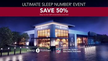 Ultimate Sleep Number Event TV Spot, 'Save 50%: 0% Interest' - Thumbnail 8