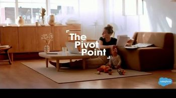 Salesforce TV Spot, 'The Pivot Point: Working From Home'