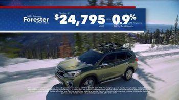 Subaru Washington's Birthday Sales Event TV Spot, 'Feel the Freedom: Forester' [T2] - Thumbnail 3