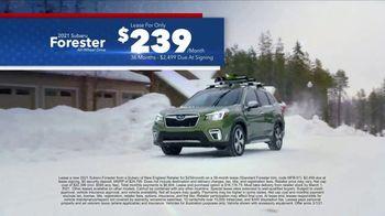 Subaru Washington's Birthday Sales Event TV Spot, 'Feel the Freedom: Forester' [T2] - Thumbnail 4